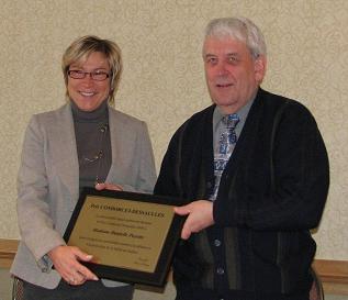 Remise du Prix Condorcet-Dessaulles 2008 à Danielle Payette